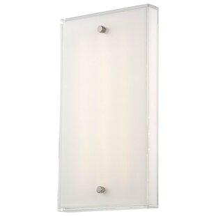 Affordable Framework 1-Light LED Wall Sconce By George Kovacs by Minka