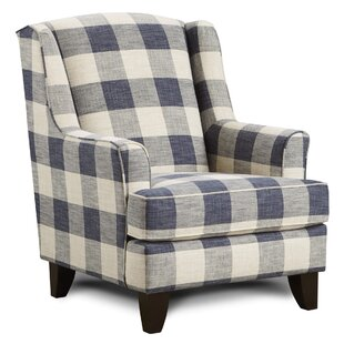 Find for Saniyah Wingback Chair By Darby Home Co