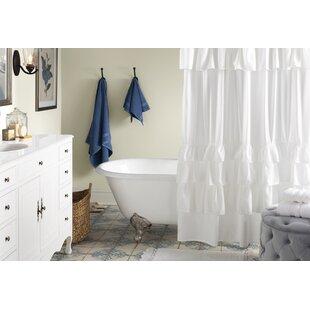 80ab18da8d1 Black   White Shower Curtains You ll Love