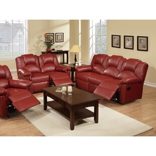 Kozak Reclining 2 Piece Living Room Set by Red Barrel Studio