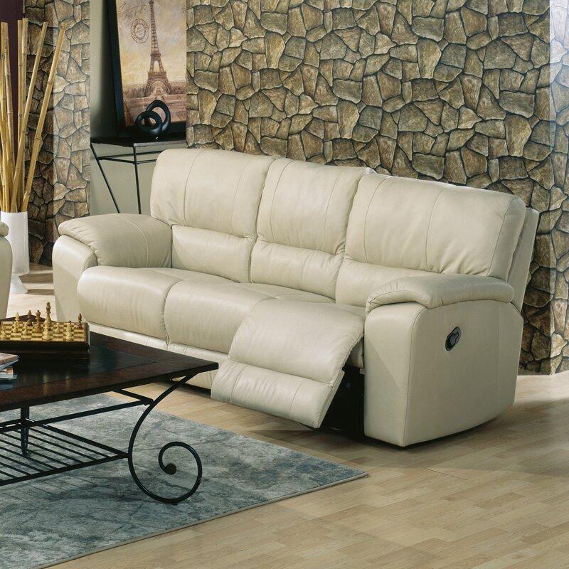 Comfortable Recliner Couches palliser furniture shields reclining sofa & reviews | wayfair