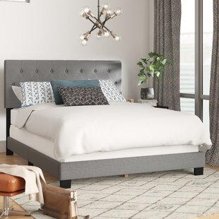 Feather Upholstered Panel Bed by Wrought Studio Herry Up