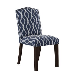 Newberry Nail Button Arched Crossweave Side Chair Wrought Studio