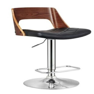 Staggers Adjustable Height Swivel Bar Stool by Orren Ellis Salet