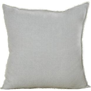Roslyn Linen Throw Pillow Wayfair