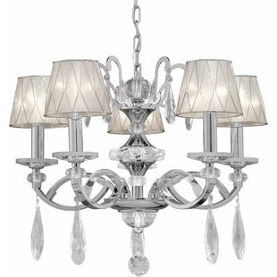 House of Hampton Kirklin 5-Light Shaded Chandelier