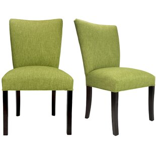 Julia Key Largo Spring Seating Double Dow Upholstered Side Chair (Set of 2) by Sole Designs