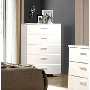 Ricka 5 Drawer Chest