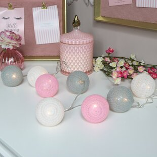 Multicolour Lace Ball String Lights Image
