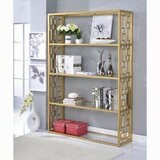 Cormier 72 H x 48 W Metal Etagere Bookcase by Everly Quinn