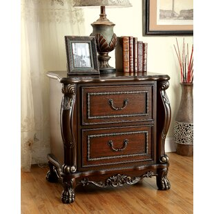 Jannell 2 Drawer Nightstand