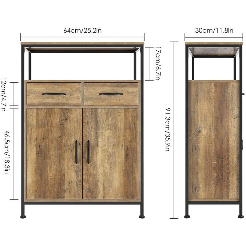 17 Stories Side Storage Cabinet Wayfair