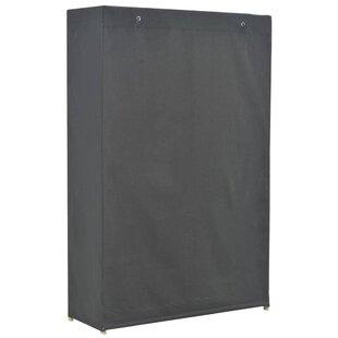Mabe 110cm Wide Portable Wardrobe By Rebrilliant