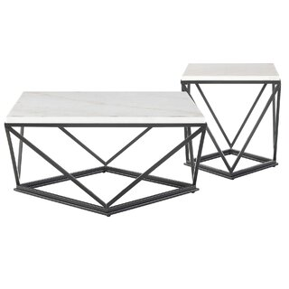 Aledo 2 Piece Coffee Table Set by Ivy Bronx SKU:AE763889 Details