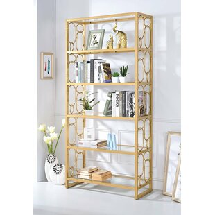 Compare Girton Geometric Etagere Bookcase By Everly Quinn