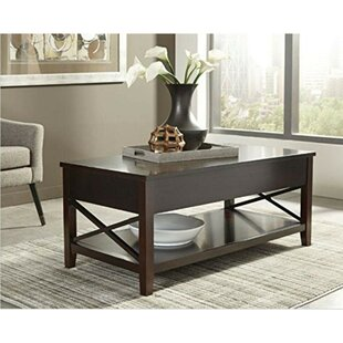 Winston Porter Rima Contemporary Wooden X Framed Coffee Table