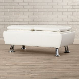 Baize Storage Ottoman by Latitude Run