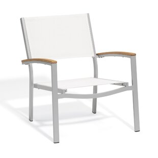 Latitude Run Maclin Teak Patio Chair (Set..