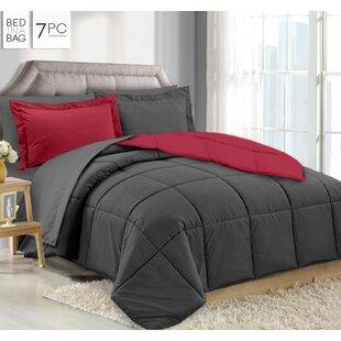 Lola 7 Piece Reversible Comforter Set