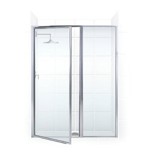 Searching for Legend Series 40 x 69 Hinged Framed Shower Door with Inline Panel ByCoastal Shower Doors