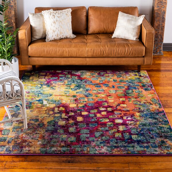 wine colored rugs You\'ll Love in 2019 | Wayfair