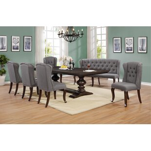 Alcorn 7 Piece Extendable Dining Set Canora Grey