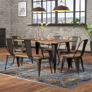 Pinnix 6 Piece Dining Set by Union Rustic