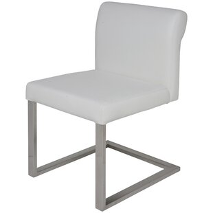 Bruno Genuine Leather Upholstered Dining Chair by Nuevo