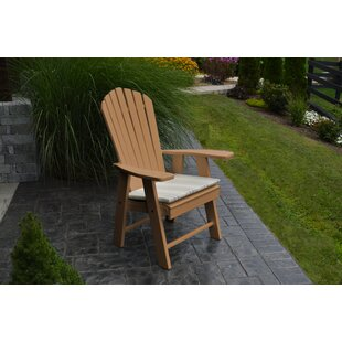 A&L Furniture Upright Plastic Adirondack Chair