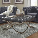 Gilham Tufted Ottoman by House of Hampton®