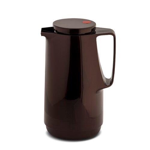 1 L Vakuum Isolierkanne | Küche und Esszimmer > Besteck und Geschirr > Kannen und Wasserkessel | Schwarzkirsche | Glas | Rotpunkt