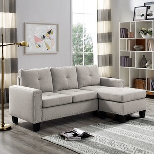 Panella Reversible Sectional by Charlton Home