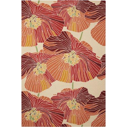 Middleton Hand Tufted Orange Rug Ebern Designs Rug Size: Run