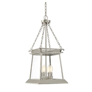 Colson 4-Light Chain Foyer Pendant  sc 1 st  Wayfair & Pendant Light With Chain | Wayfair