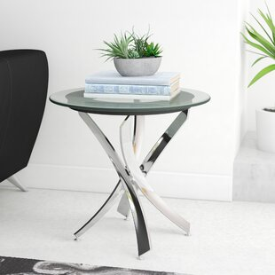 Best Price Daugherty End Table By Wade Logan
