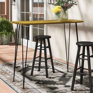 Union Rustic Loya Outdoor Bar Table