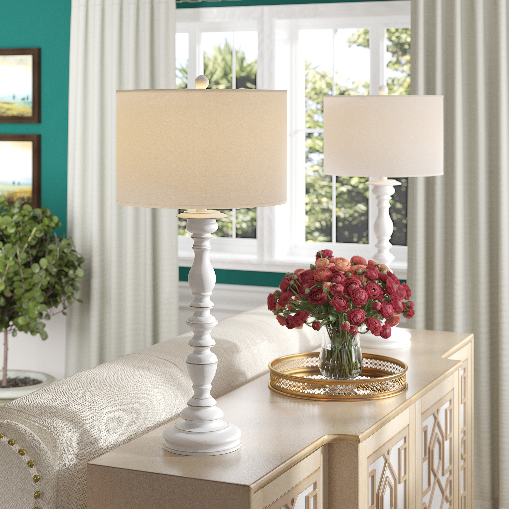 Picture of: Buffet Cottage Country Table Lamps You Ll Love In 2020 Wayfair
