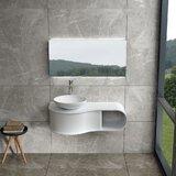 Ogburn 39 Wall Mounted Single Bathroom Vanity by Orren Ellis