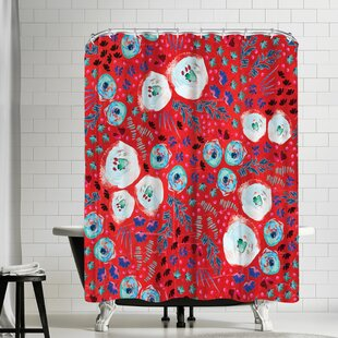 Rebecca Prinn Floral Jam Single Shower Curtain