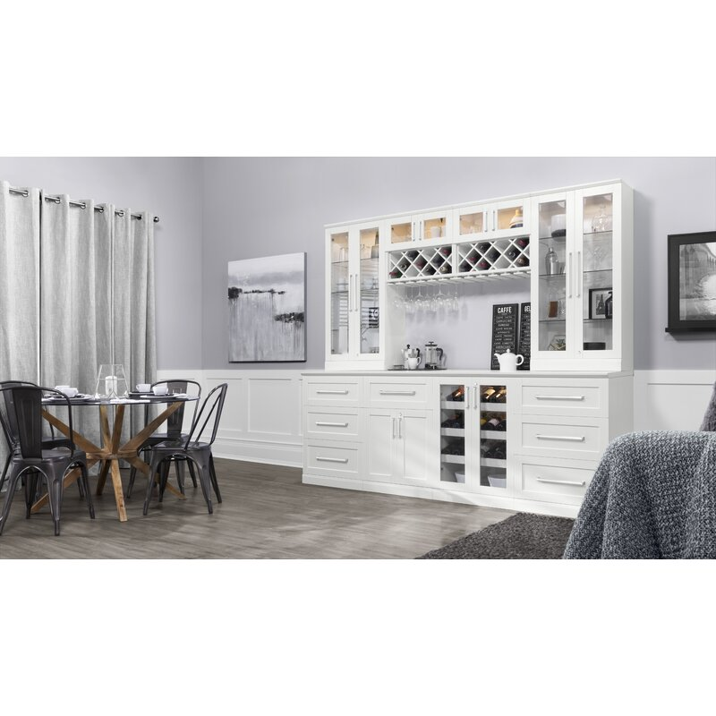 Newage Products Home Bar With Wine Storage Wayfair