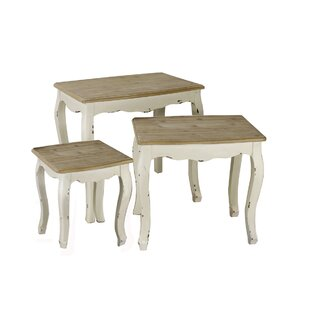 Ophelia & Co. Wadlington 3 Piece Nesting Table