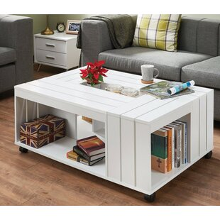 Zamir Appealing Coffee Table with Storage
