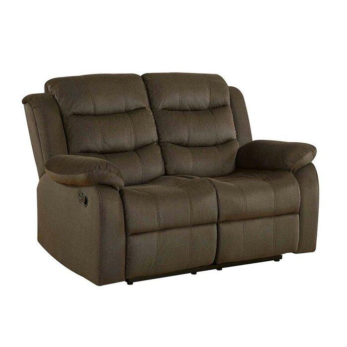 Wondrous Chloe Modern Plush Reclining Loveseat Uwap Interior Chair Design Uwaporg