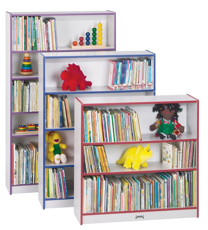 bookcase size w mintra d ladder cherry shop finish amazing on min deal bookcases x h