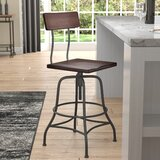 Tonto Adjustable Height Swivel Bar Stool by Trent Austin Design®