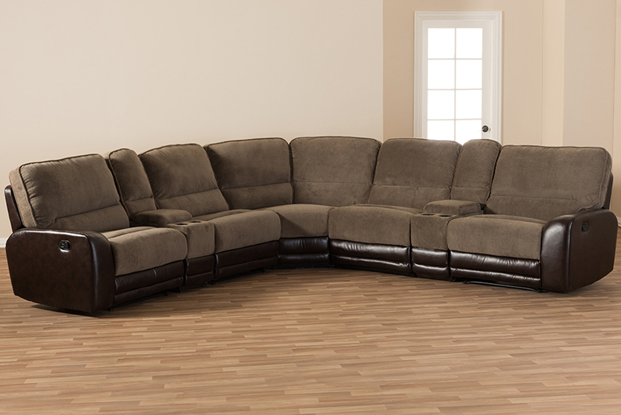 Awesome Kiser Symmetrical Sectional Theyellowbook Wood Chair Design Ideas Theyellowbookinfo