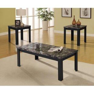 2017 Sale Carly 3 Piece Coffee Table Set A&J Homes Studio
