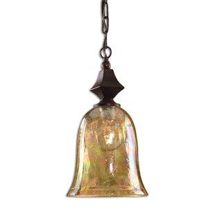 Bloomsbury Market Salina 1-Light Bell Pendant