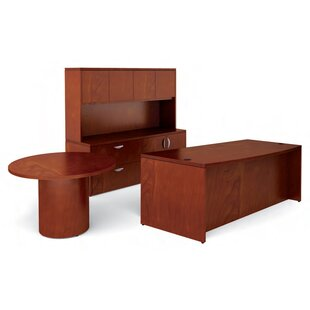 Ventnor 4-Piece Standard Desk Office Suite by Offices To Go Fresh