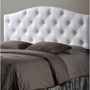 Savings Myra Queen Upholstered Panel Headboard by Wholesale Interiors